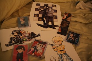 Fanart purchased at Katsucon