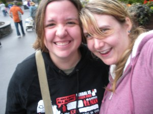 Cait and I at Six Flags!