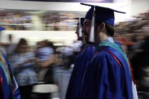 Geoff's graduation.