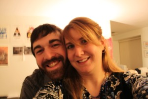 Geoff and I for his birthday...about a month before our 5 year anniversary.