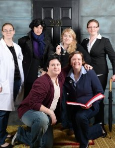 Our group photo from 221BCon