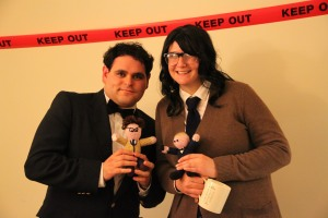 Jesse and I as Bond and Q.