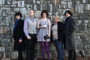 Sherlock Meet-up at Katsucon (Esther and I can be found on the right)