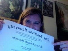 The Diploma Shot